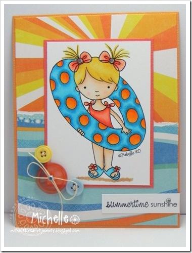 Michelle McDaniel-floaty girl