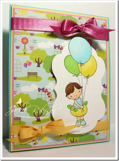 Jackie Rakoski-Balloon Baby