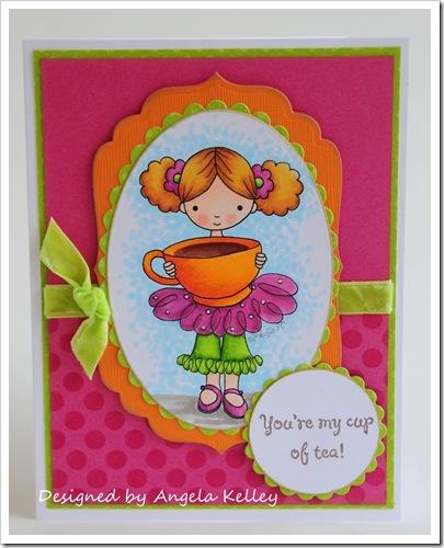 Angela Kelley-Coffee girl-framed