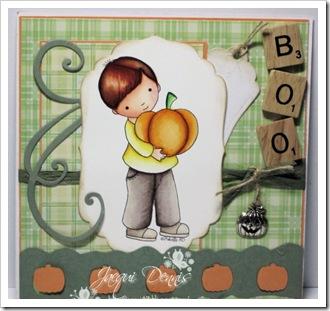 Jacqui Dennis-PumpkinBoy