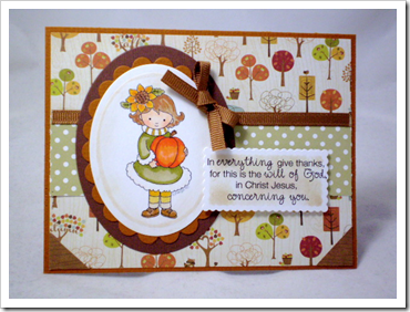 Tricia-Little Pumpkin Girl