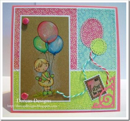 Dorcas-Balloon baby