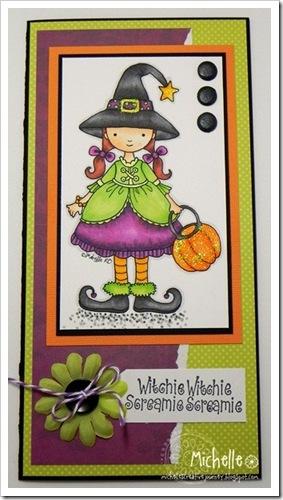 michelle-halloween girl
