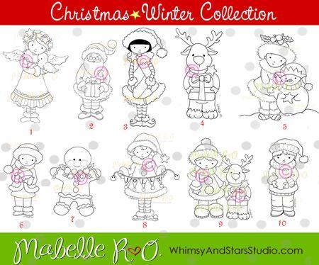 Christmas Digis!!