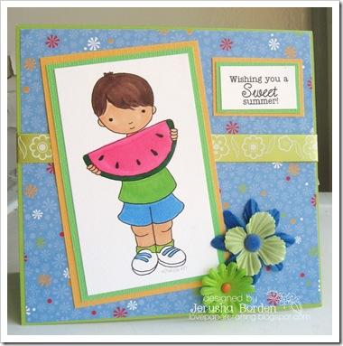 Jerusha Borden-watermelon