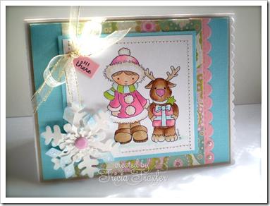 Tricia-Reindeer & Girl