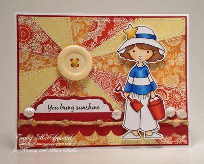 Digi Stamp: Amelie to the Beach