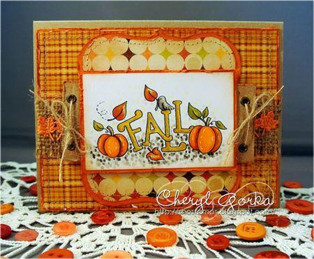Digital Stamp: Its fall!